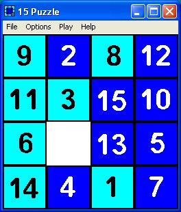 15 slide puzzle game screenshots and review.